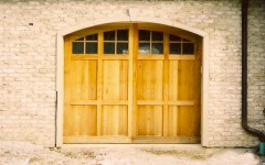 Single residential overhead door